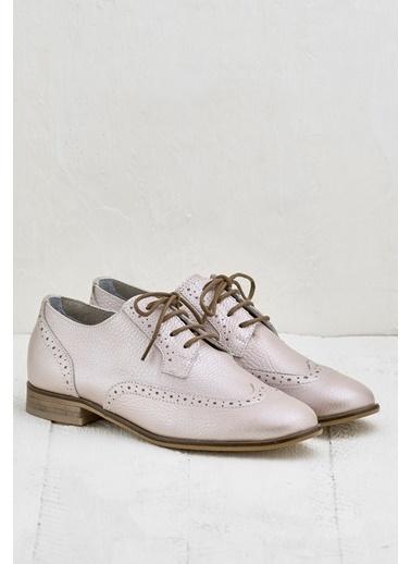 Elle Loafer Ayakkabı Pudra